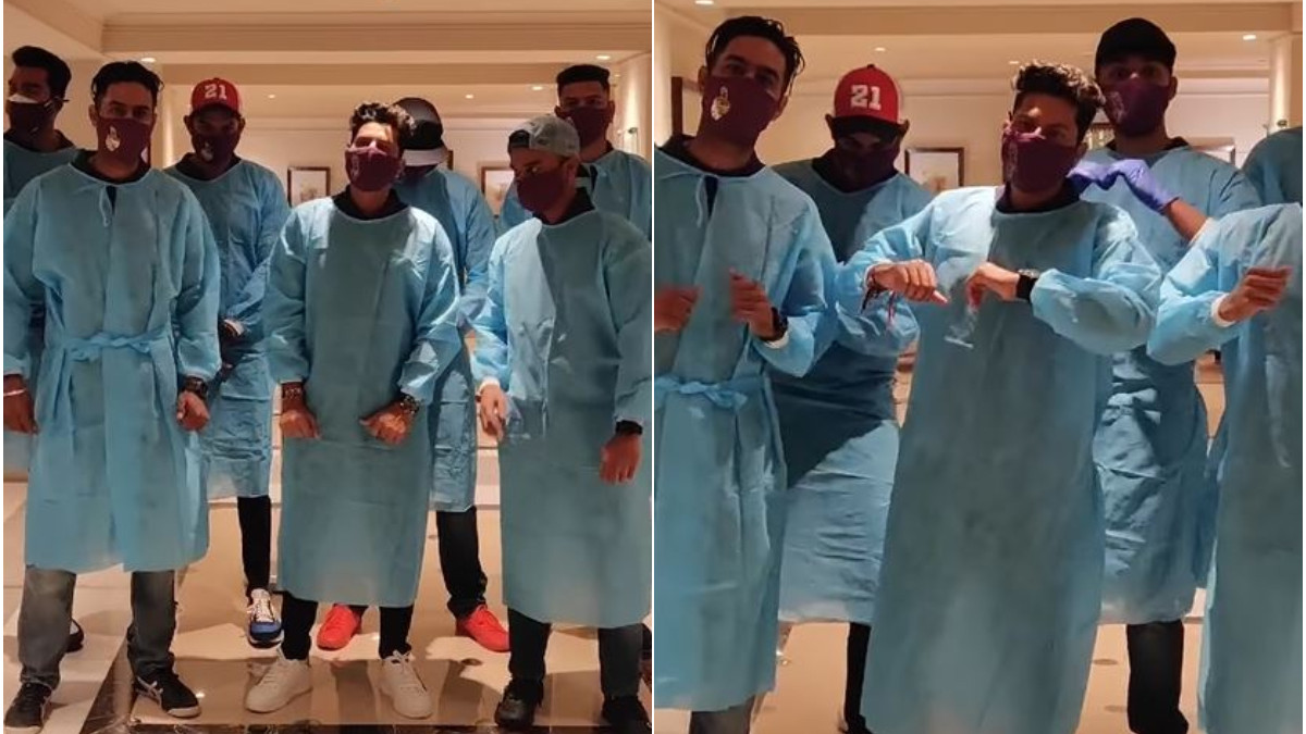 IPL 2021: WATCH - Kolkata Knight Riders in high spirits as they dance their way to UAE
