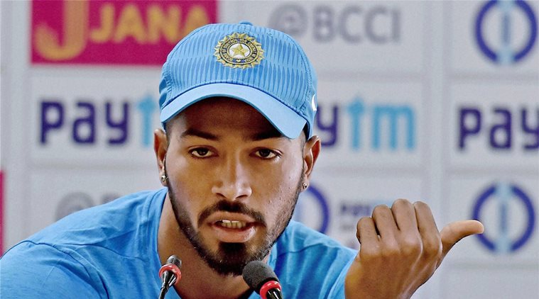 Pandya has a test ton to his credit. (Indian Express)