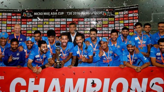 Asia Cup 2018: India in Asia Cup - Statistical History