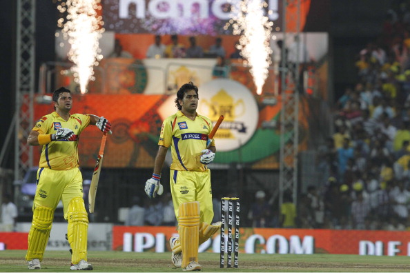 MS Dhoni and Suresh Raina are back with CSK