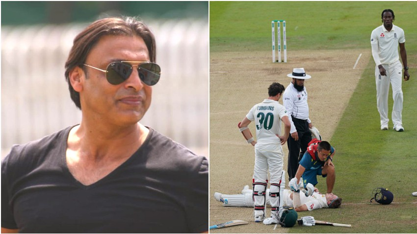 ASHES 2019: Shoaib Akhtar criticizes Jofra Archer for not checking on Steve Smith