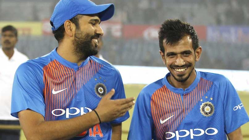 Yuzvendra Chahal asks Rohit Sharma to not defend but smash it in the Asia Cup