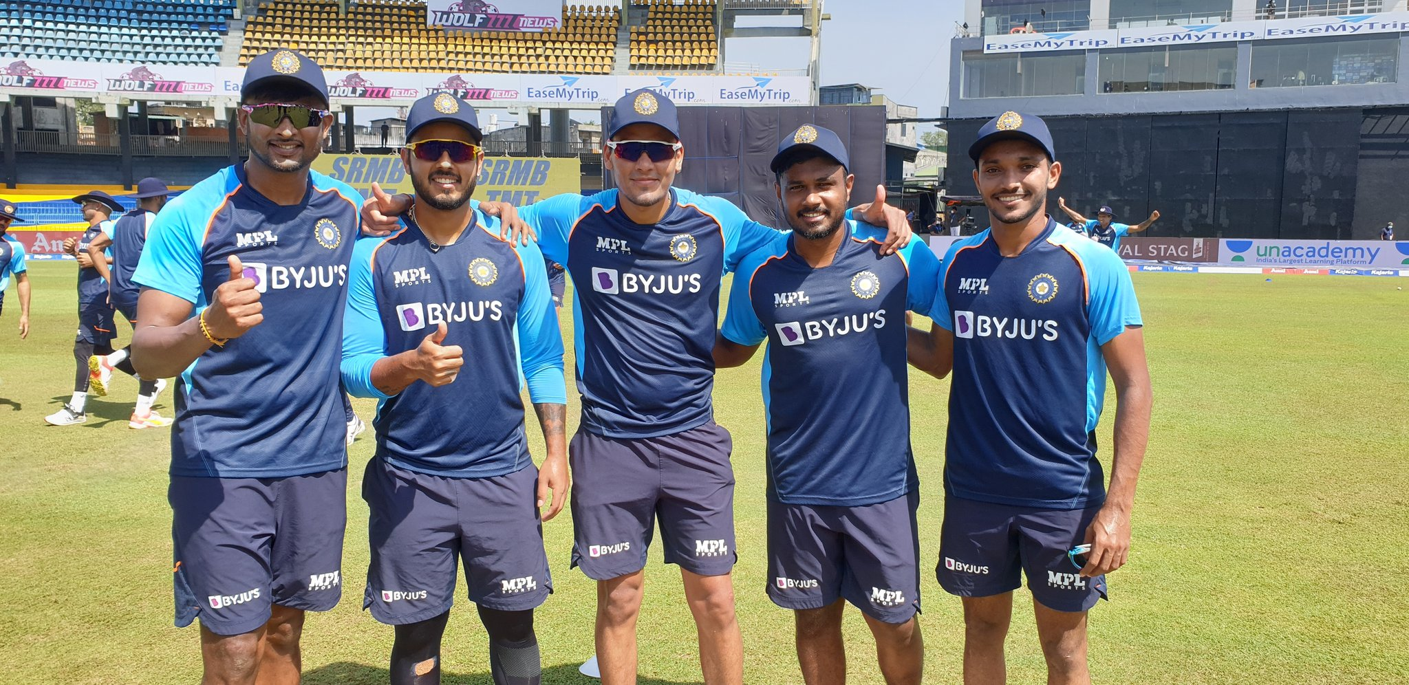 Five India players were handed debuts for the third ODI   BCCI