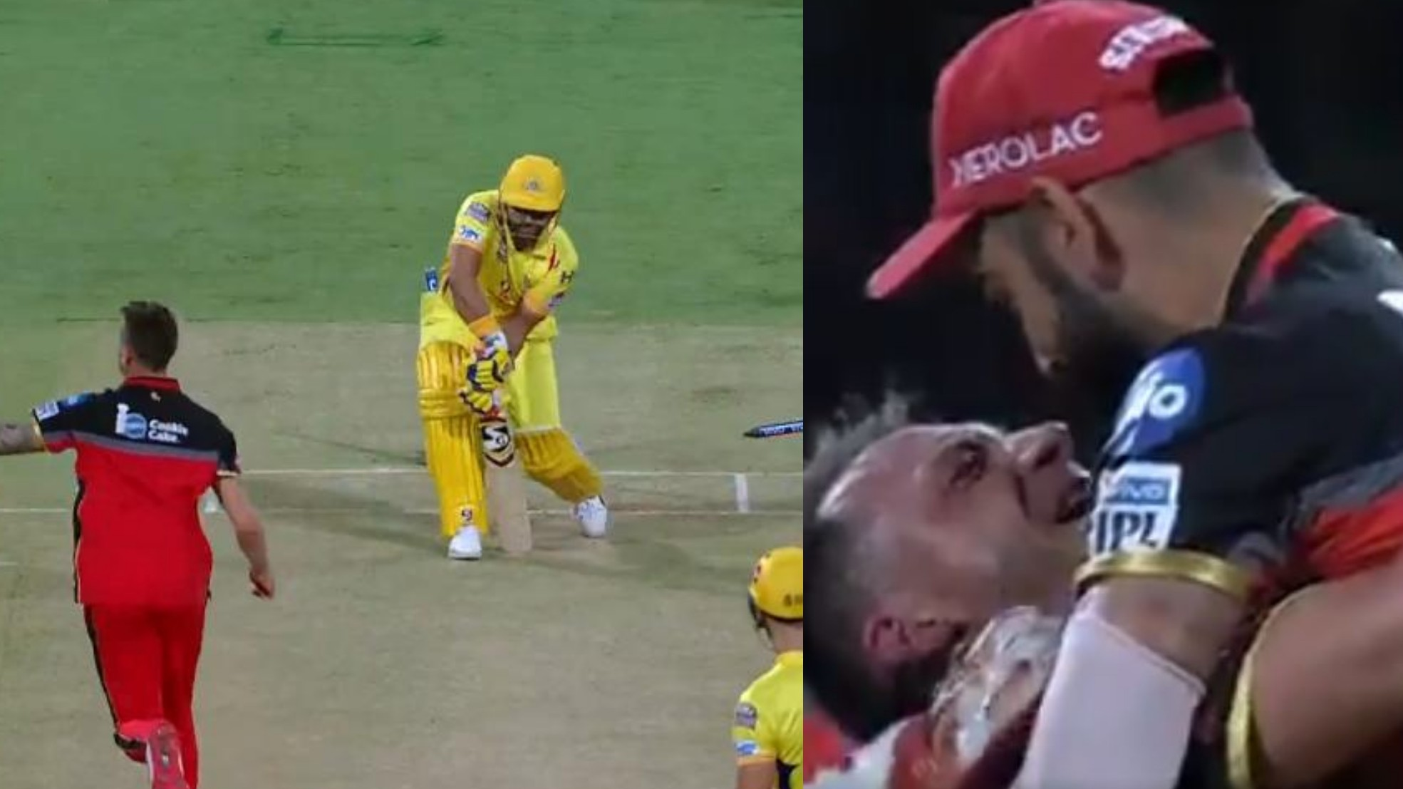 IPL 2019: WATCH – Virat-Steyn bromance at all-time high after amazing yorker dismisses Raina