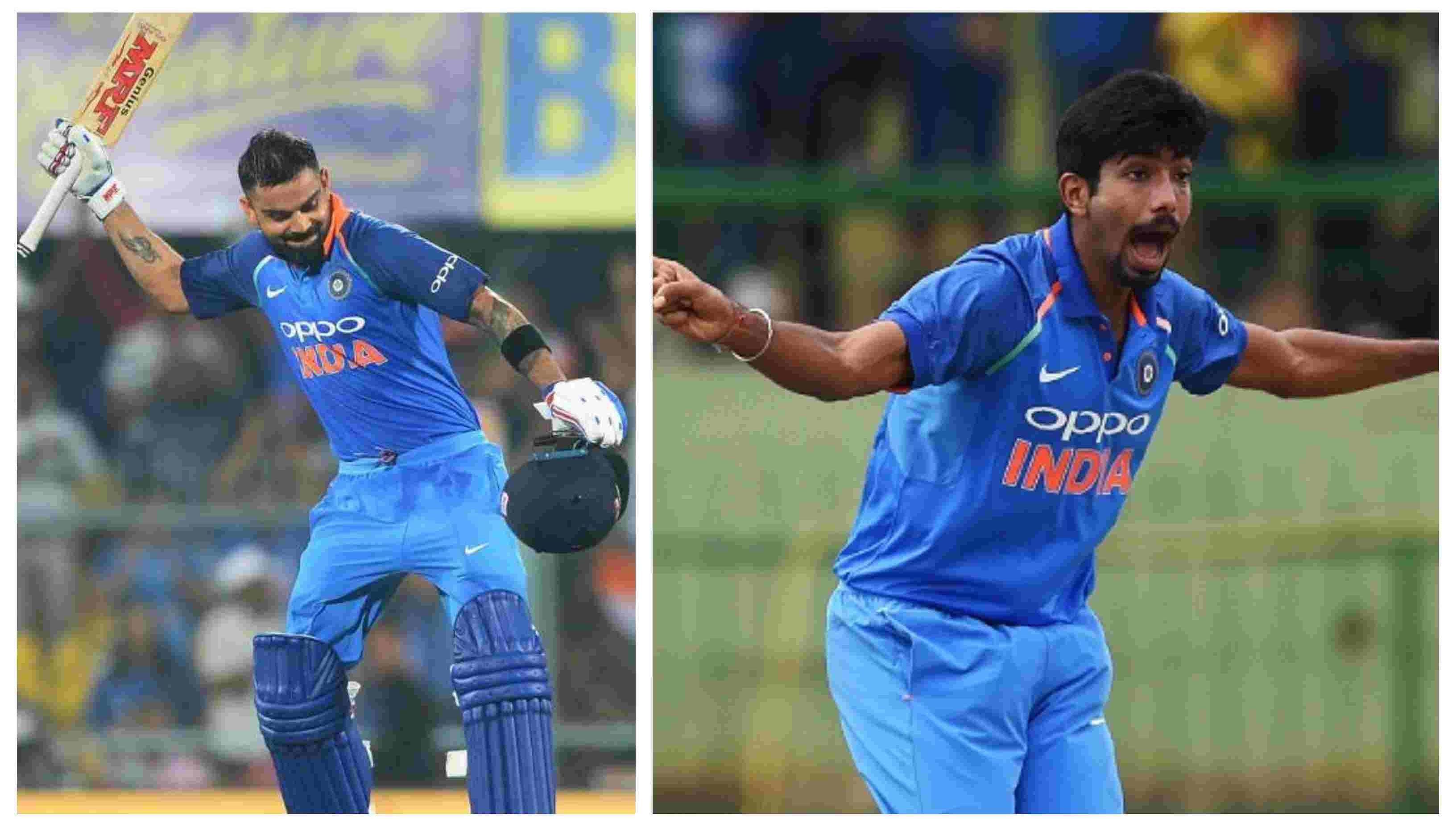 ICC Rankings: Virat Kohli, Jasprit Bumrah retain their positions as No. 1 ODI batsman and bowler