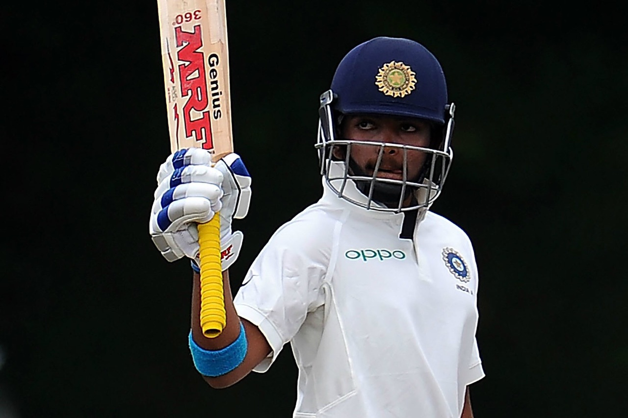 Prithvi Shaw became the youngest debut centurion in Tests for India and 4th overall | Getty