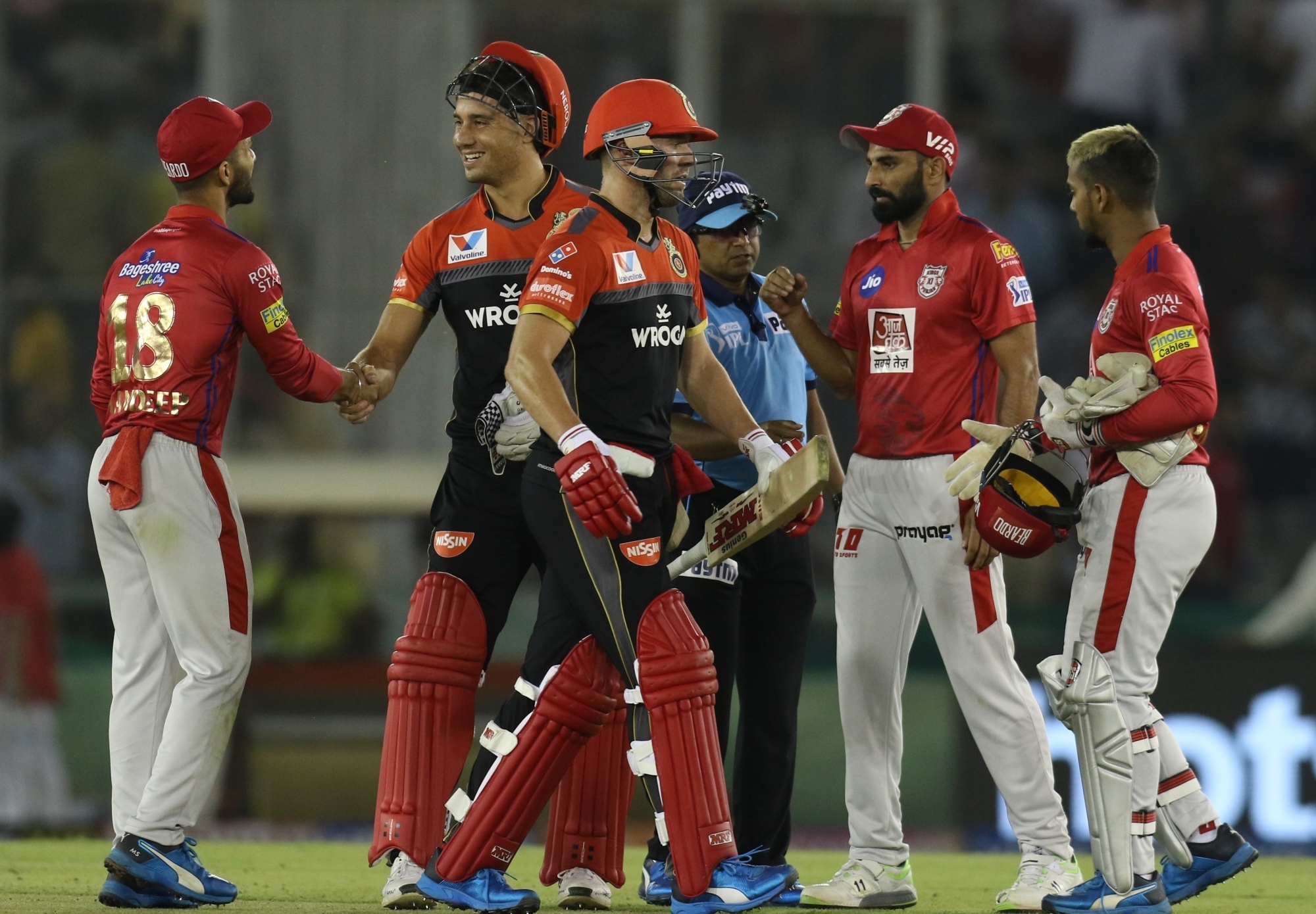 RCB easily won against KXIP by eight wickets | IANS