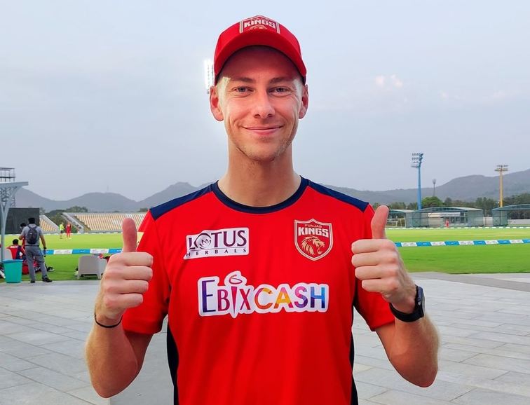 Riley Meredith is excited to be part of the IPL | PBKS Instagram