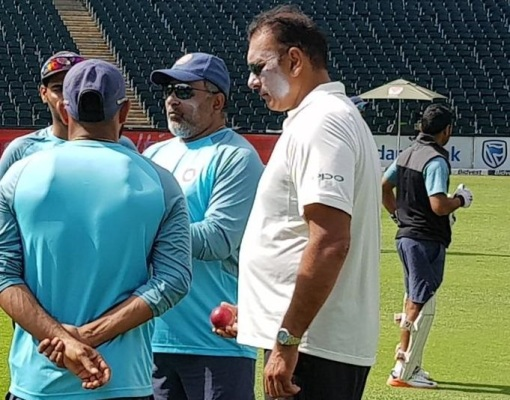 Indian coaching staff | Twitter