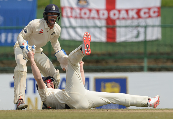 Keaton Jennings and Ben Foakes teamed up to take a stunning catch   Getty Images