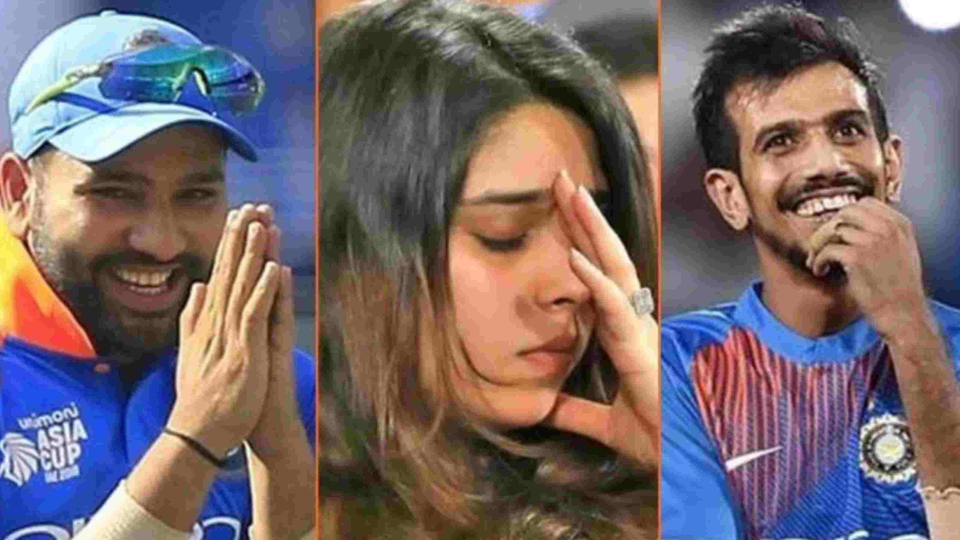 Yuzvendra Chahal pulls Ritika Sajdeh's leg by sharing a video with Rohit Sharma