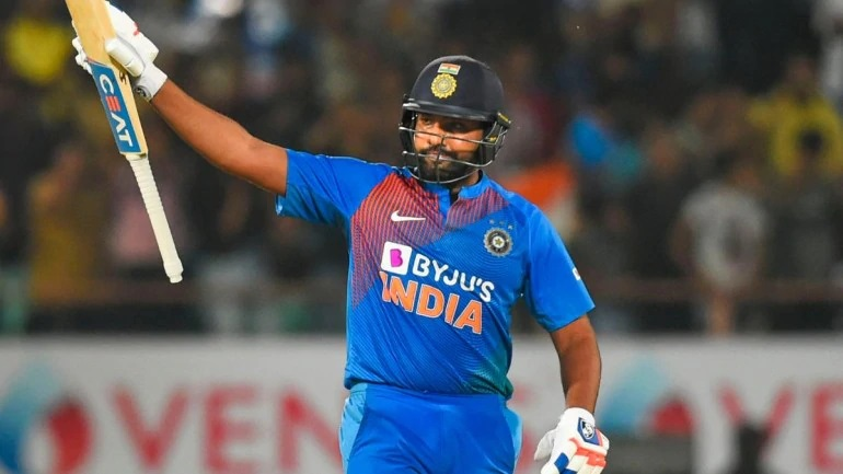 Rohit Sharma smacked 85 runs in 43 balls | AFP