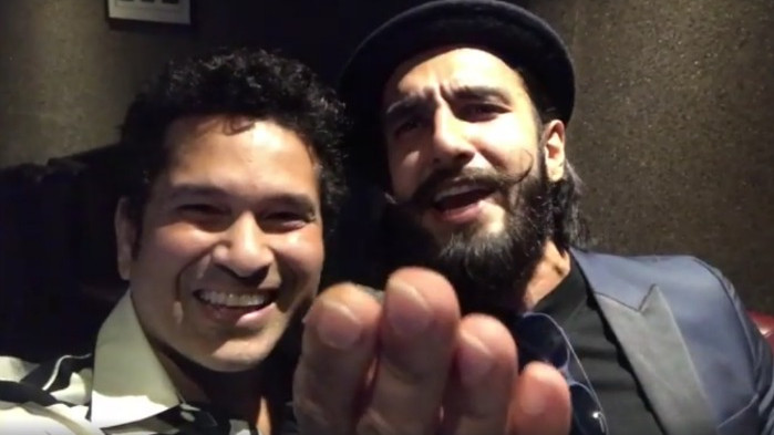 Ranveer Singh reveals Sachin Tendulkar's reaction after getting to know that he will play Kapil Dev on silver screen