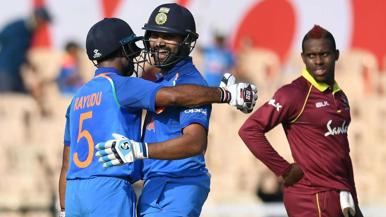 IND vs WI 2018: Fourth ODI - Statistical Highlights