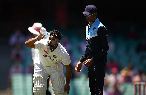 Ashwin confirmed that Pant will bat in second innings | Getty
