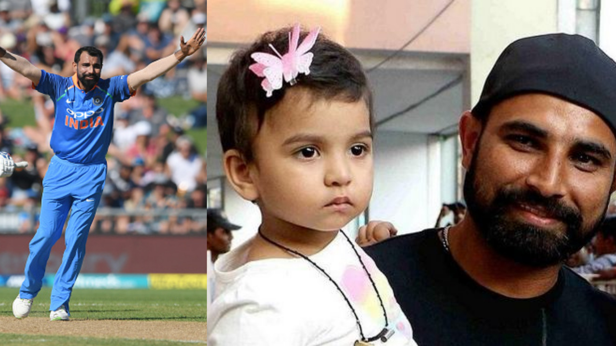 NZ v IND 2019: Mohammad Shami dedicates his ODI record to his daughter