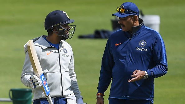 CWC 2019: Ravi Shastri unsurprised by Rohit Sharma's prolific run in the World Cup