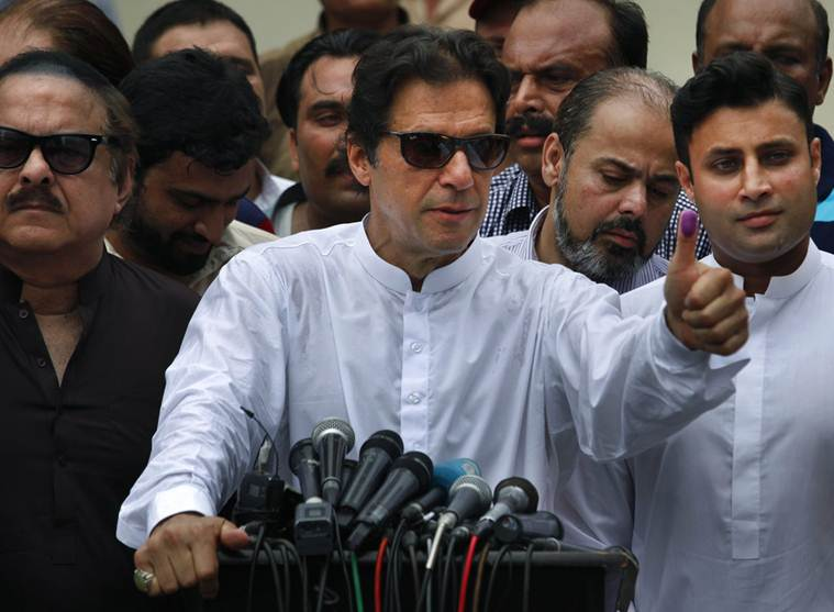 Imran Khan won from both seats he fought on and his party Pakistan Tehreek-e-Insaf (PTI) is leading in polls