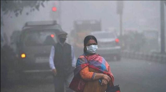 Residents of Delhi have been asphyxiated due to tremendous pollution