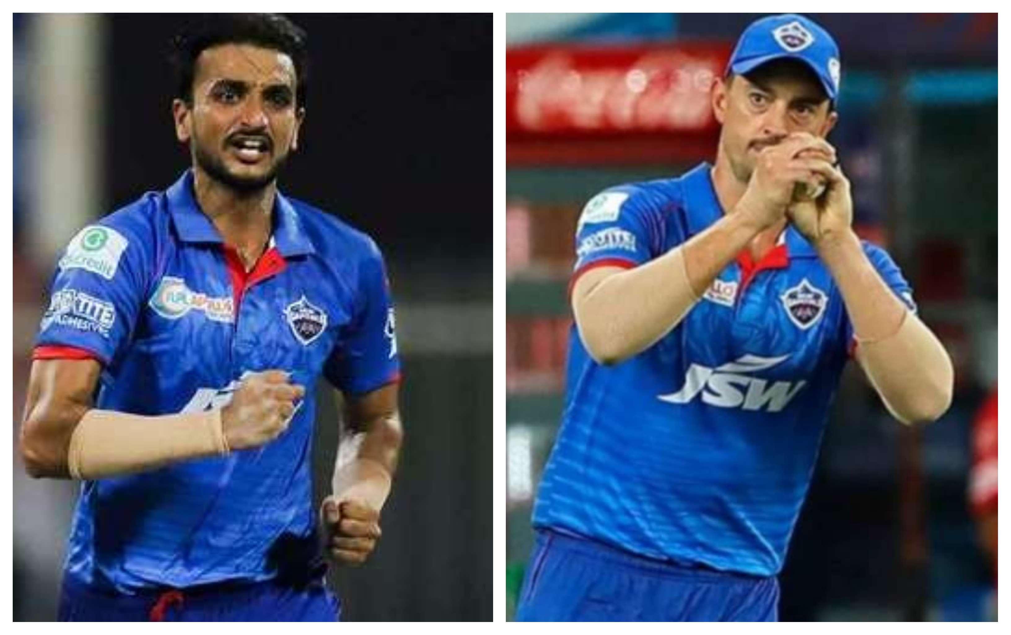 Harshal Patel and Daniel Sams | IPL/BCCI