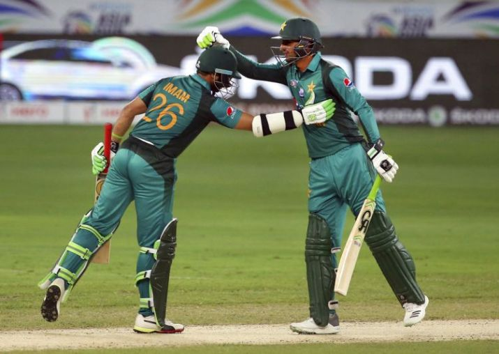 Shoaib Malik, along with Imam took Pak across the finishing line in the last over against Afg | GETTY