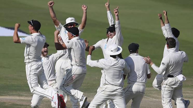 PAK v NZ 2018 : First Test - Statistical Highlights