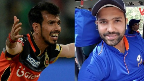 Rohit Sharma check-mates Yuzvendra Chahal on social media