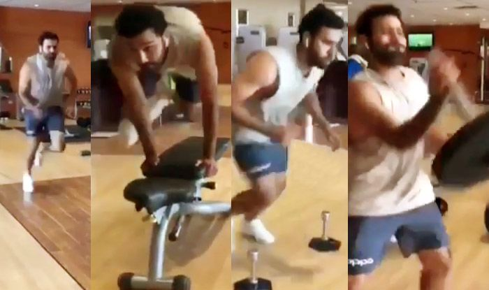 Rohit Sharma posted a video of himself in gym | Instagram
