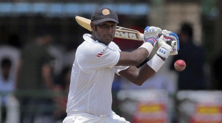 एंजेलो मैथ्यूज का श्रीलंका के लिए बांग्लादेश के खिलाफ टेस्ट मैच खेलना संदेह में