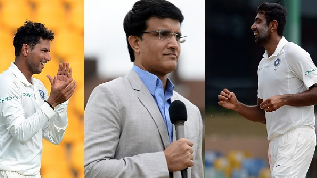 ENG v IND 2018: Sourav Ganguly prefers R Ashwin over Kuldeep Yadav for Tests
