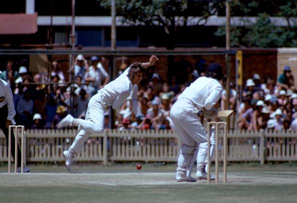 Jeff Thomson bowling at his peak | Getty