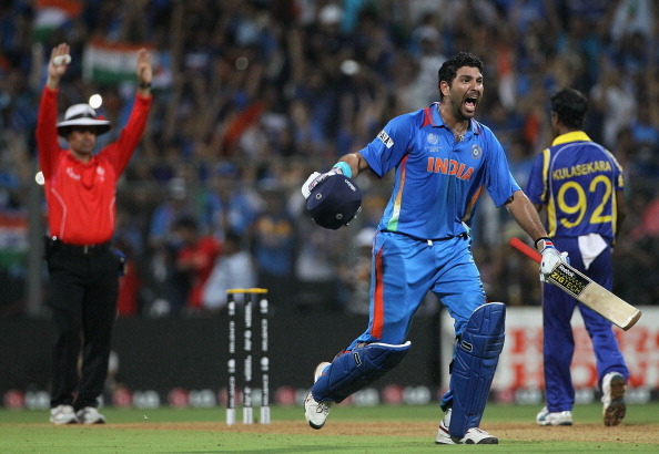 Yuvraj Singh had a stupendous 2011 World Cup | Getty