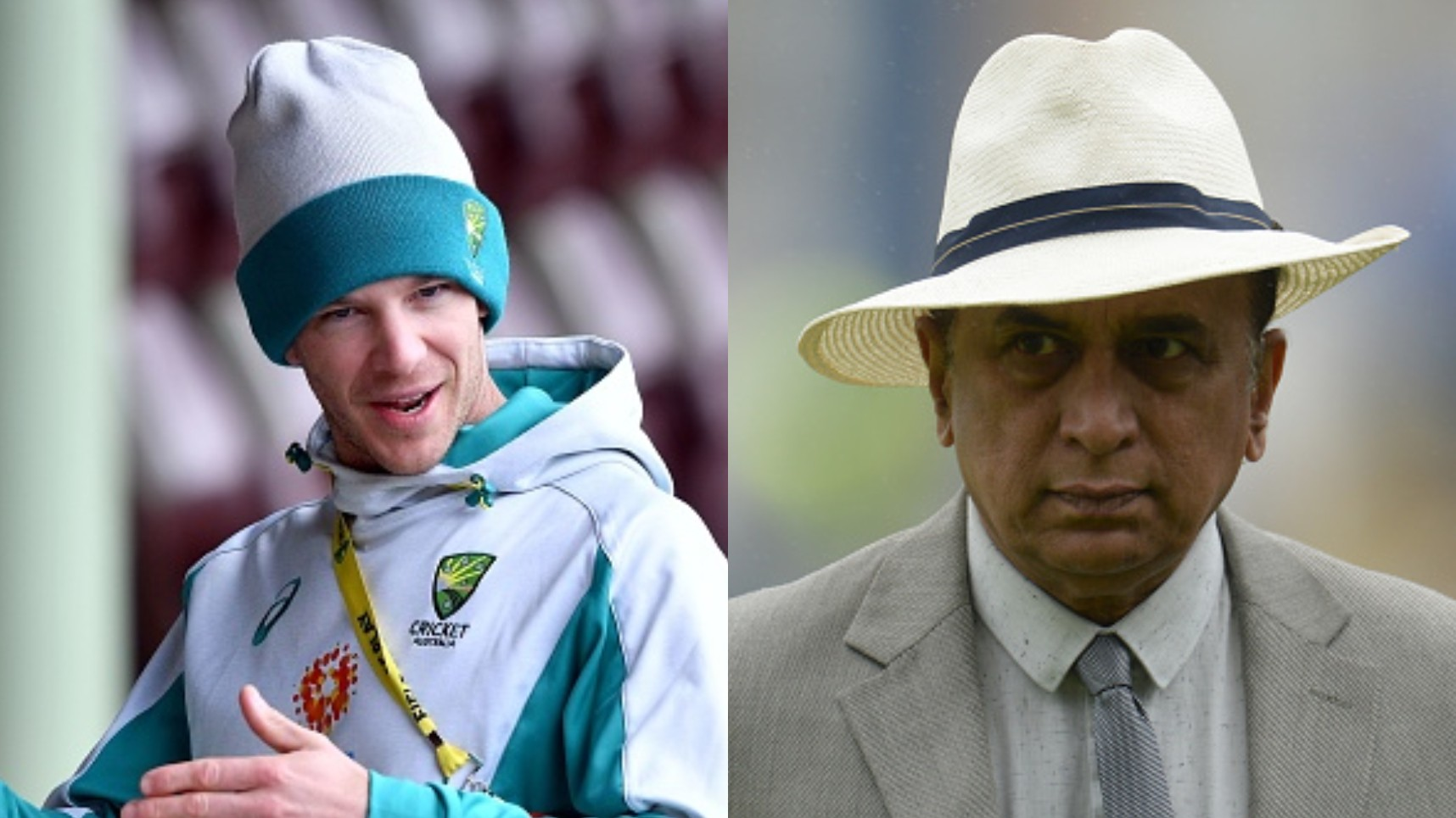 "AUS v IND 2020-21: WATCH- ""Sunny can say what he wants to say,"" Paine not concerned with Gavaskar's comments"