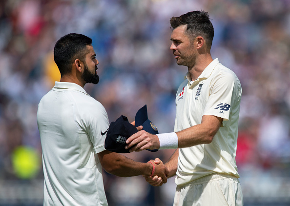 Virat Kohli and James Anderson | Getty Images