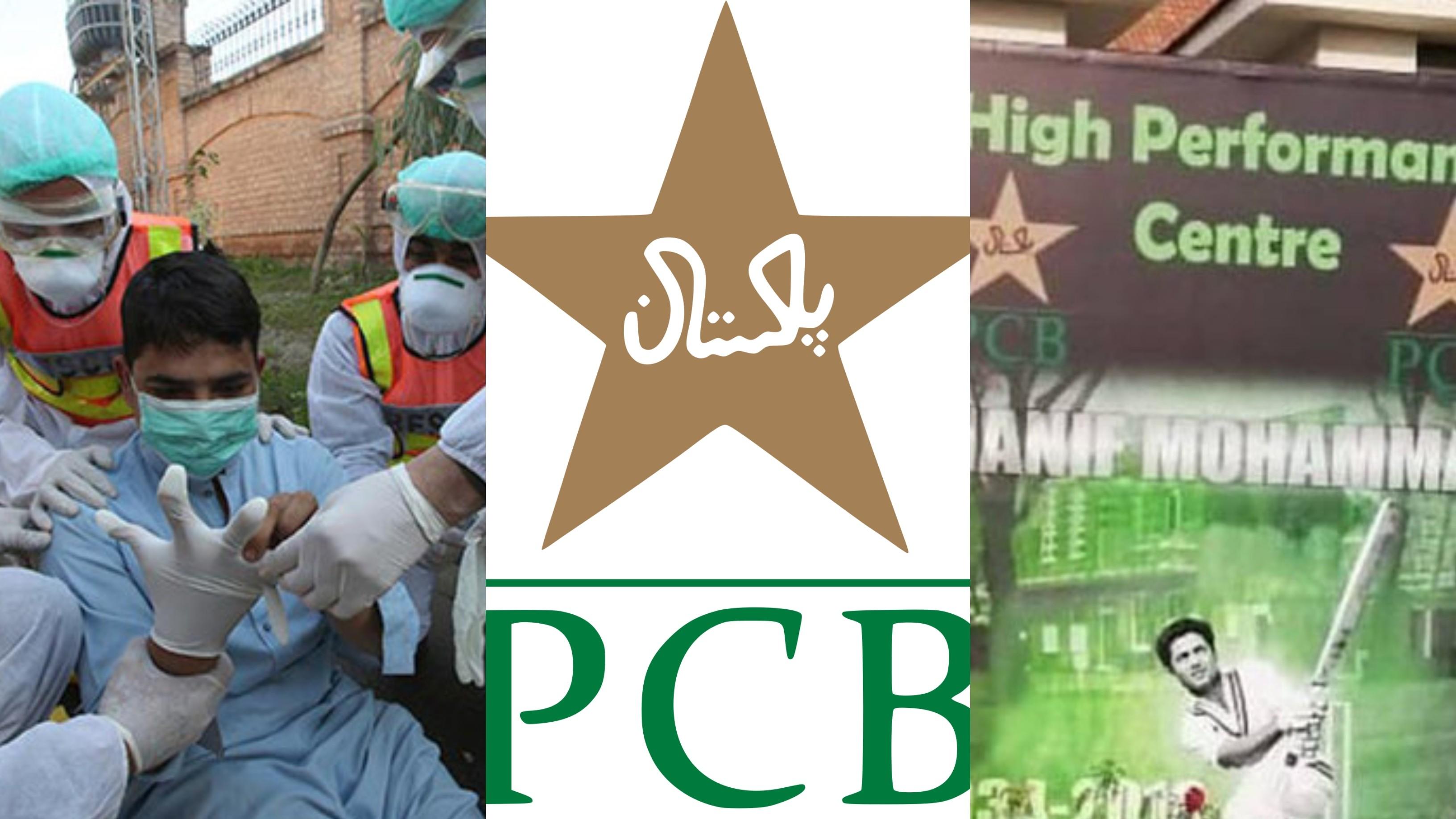 PCB converts Karachi High-Performance Centre into temporary sanctuary for paramedic staff