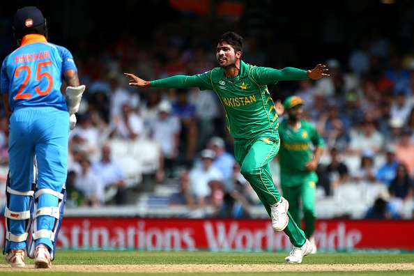 Mohammad Amir has the potential to trouble Indian opener Shikhar Dhawan | Getty Images
