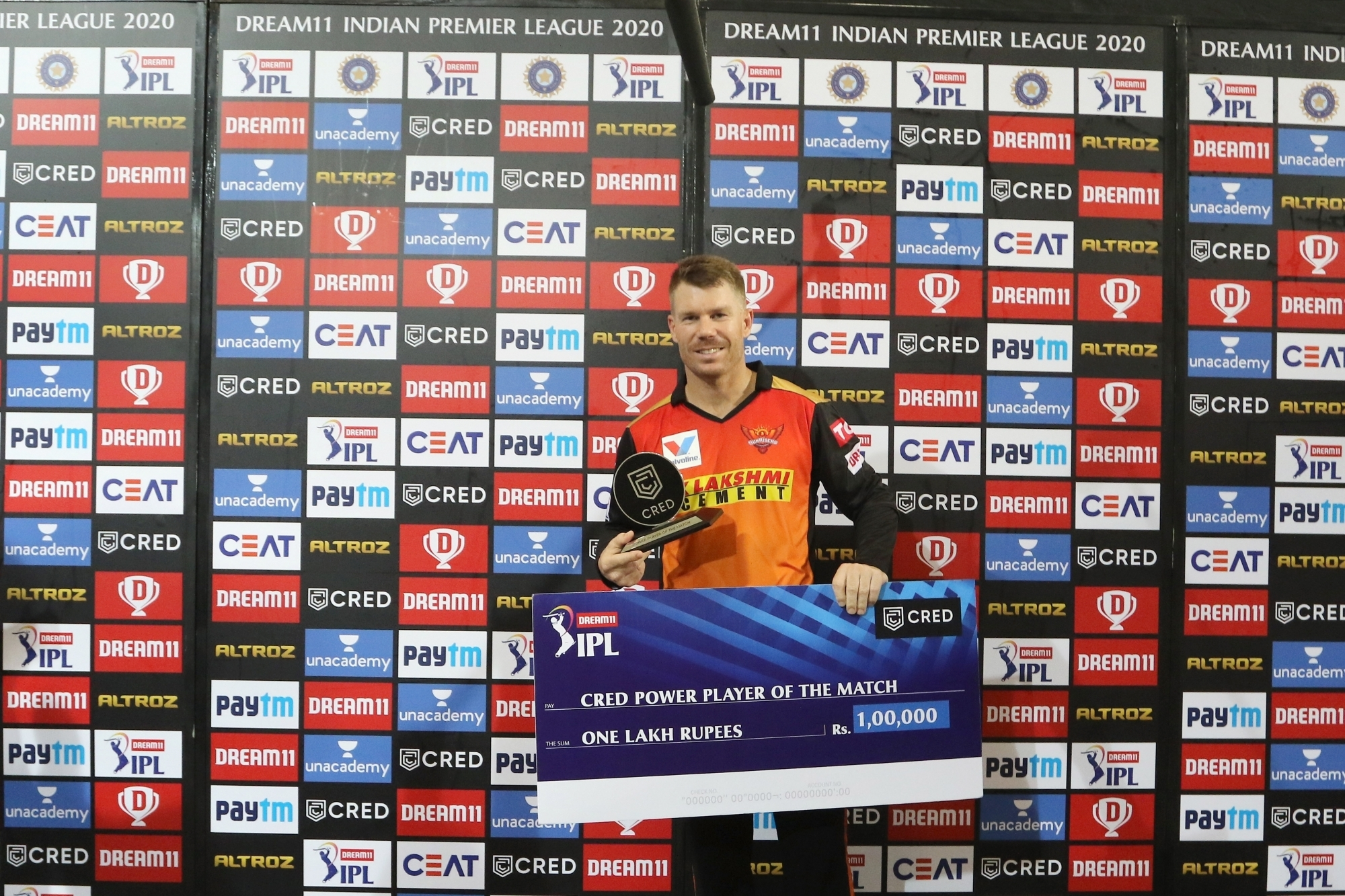 David Warner is currently playing in the IPL 2020 | IANS