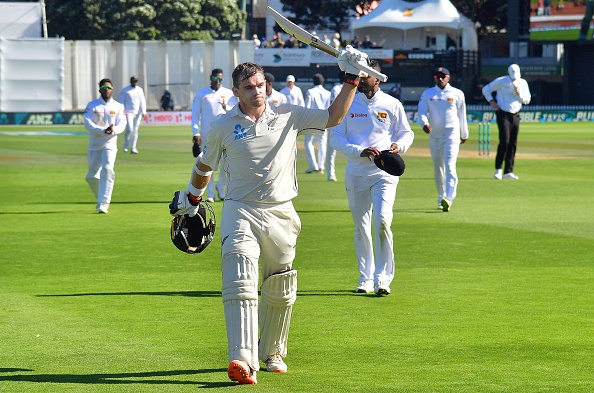 Latham faced 489 balls in Wellington | Getty Images