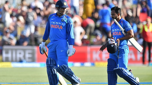 NZ v IND 2019: Kedar Jadhav shares his experience of batting with MS Dhoni