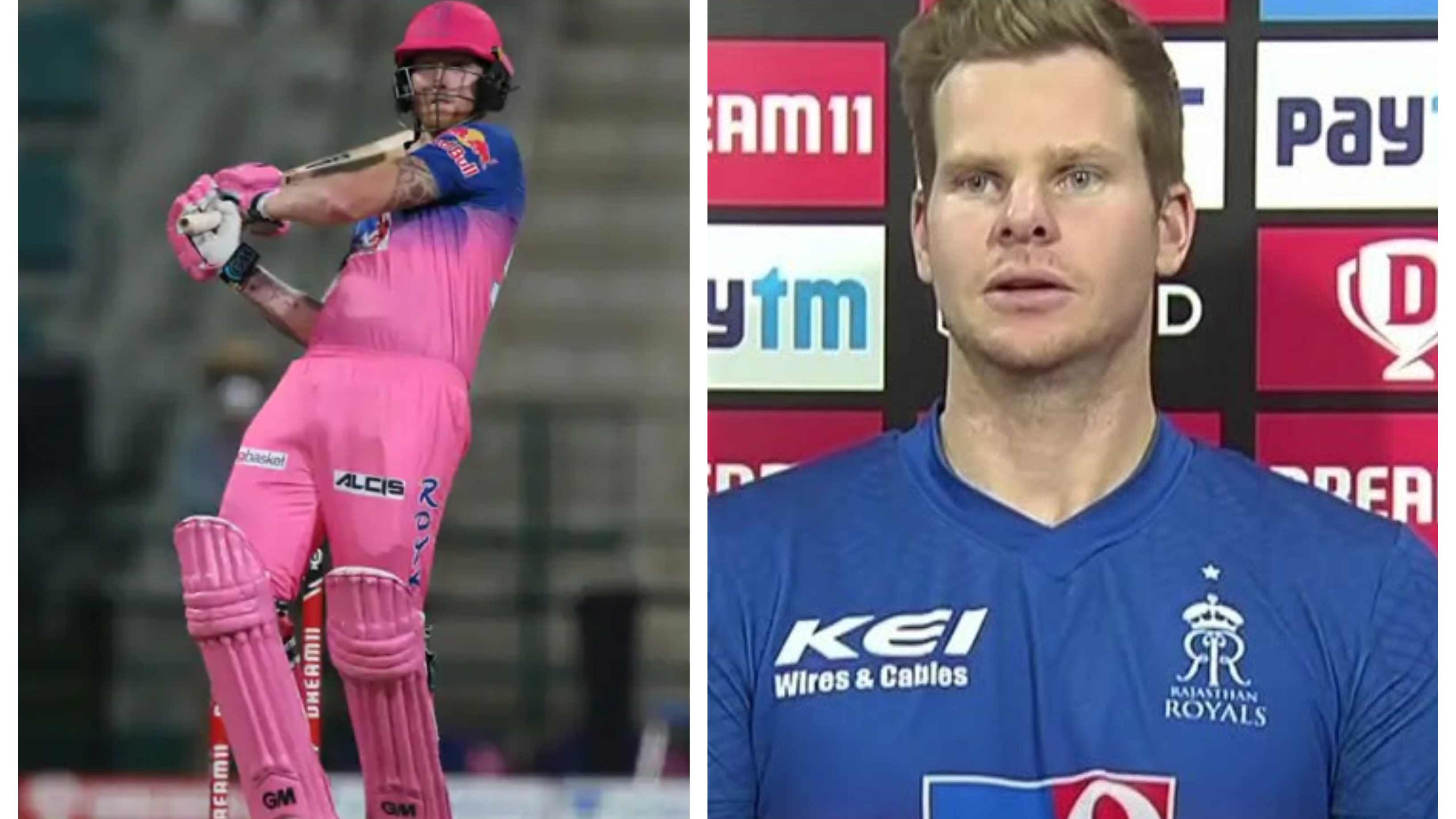 IPL 2020: Steve Smith hails Ben Stokes as a