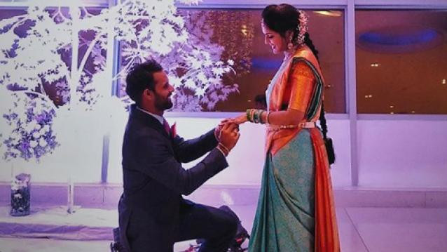 Hanuma Vihari gets engaged; shares pictures with his fiance
