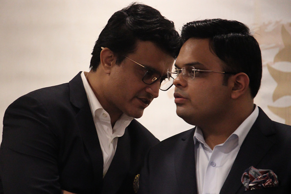 Sourav Ganguly and Jay Shah | Getty