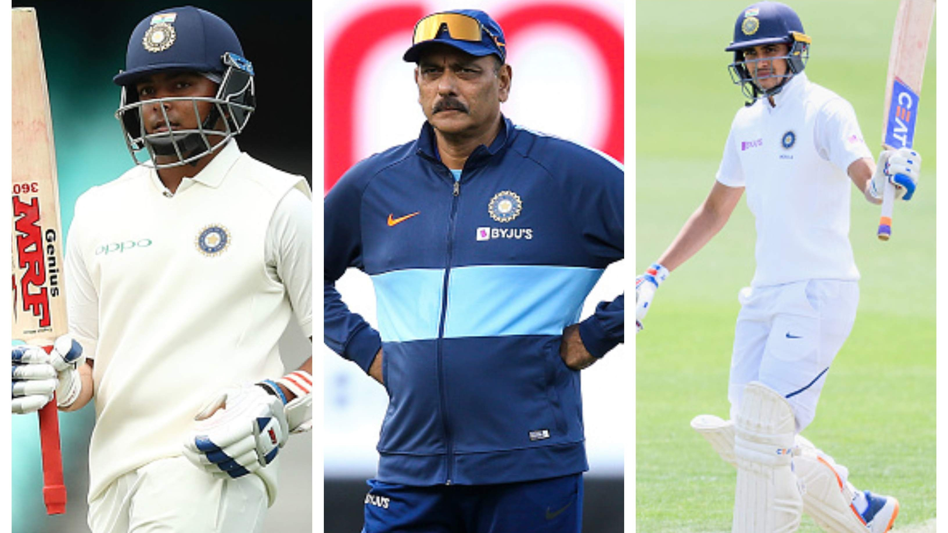 "NZ v IND 2020: ""Both are supremely exciting talents"", Shastri has his say on Shaw and Gill"