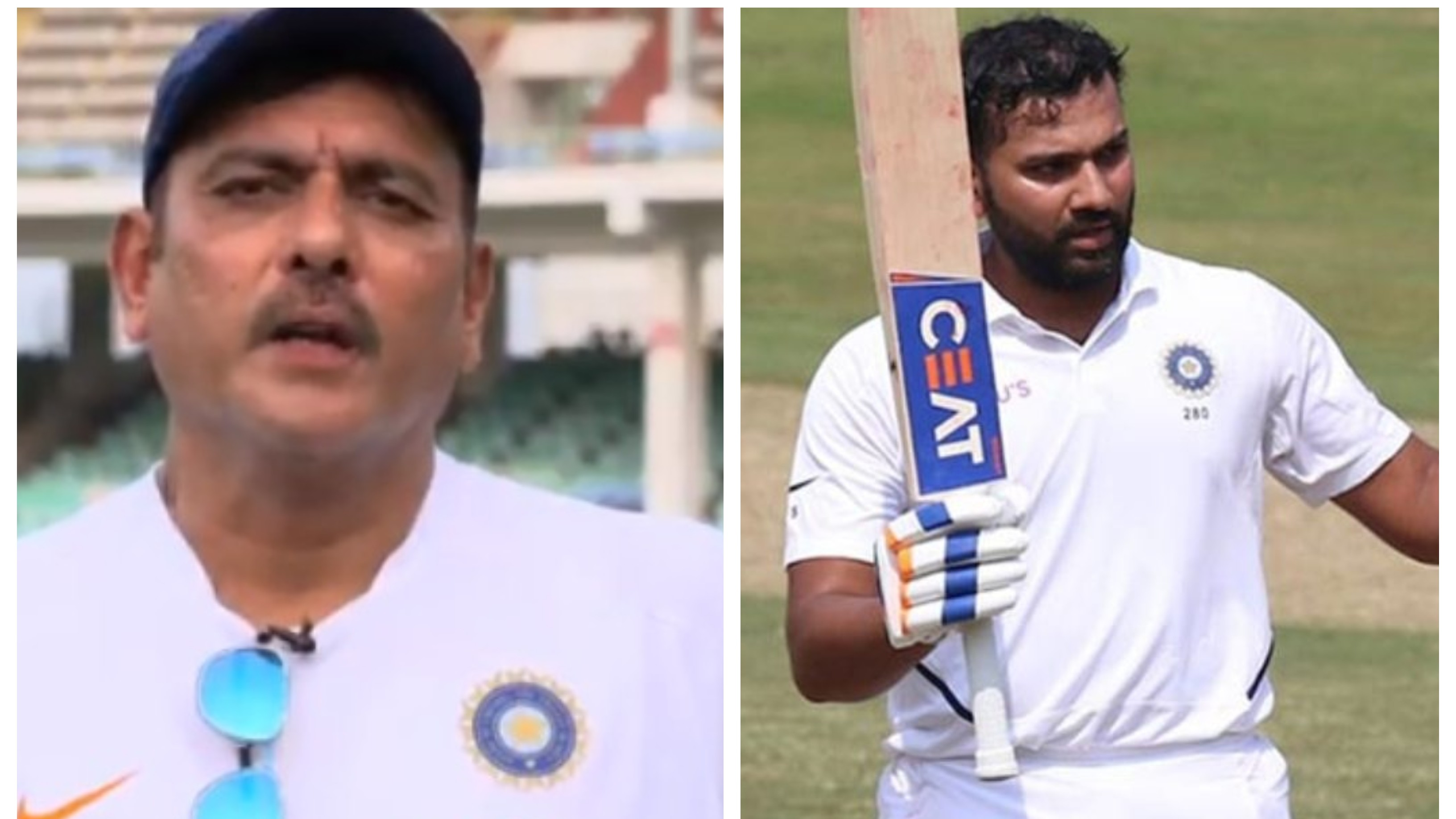 "IND v SA 2019: ""I would hate to see a player of his quality sitting in the reserves"", Shastri hails Vizag Test hero Rohit"