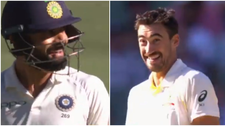 AUS v IND 2018-19: WATCH- Virat Kohli and Mitchell Starc shared a laughter after pitch behaved awkwardly