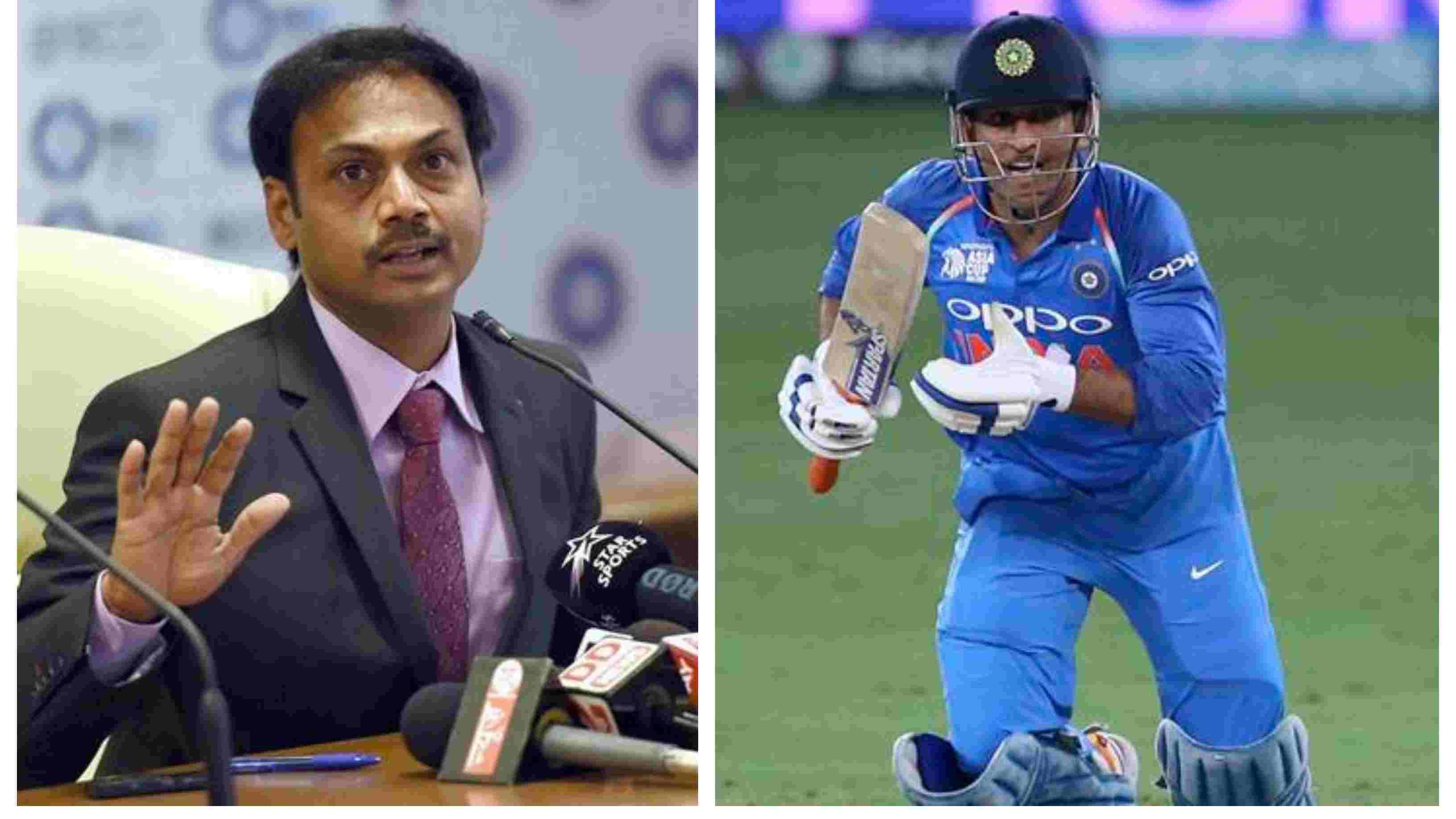 IND v WI 2018: MS Dhoni's T20I career isn't over yet, confirms chief selector MSK Prasad