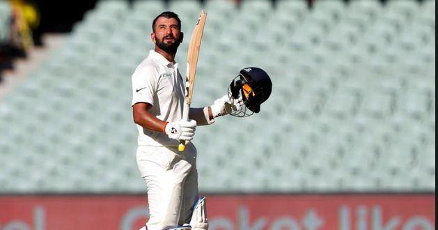 Cheteshwar Pujara hit a marvelous 123 in Adelaide Test | GETTY