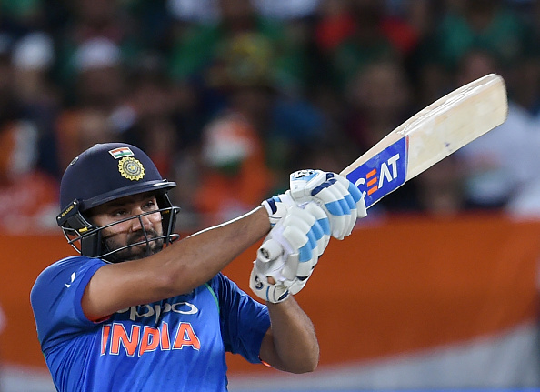 Rohit Sharma hit 48 runs at the top | Getty