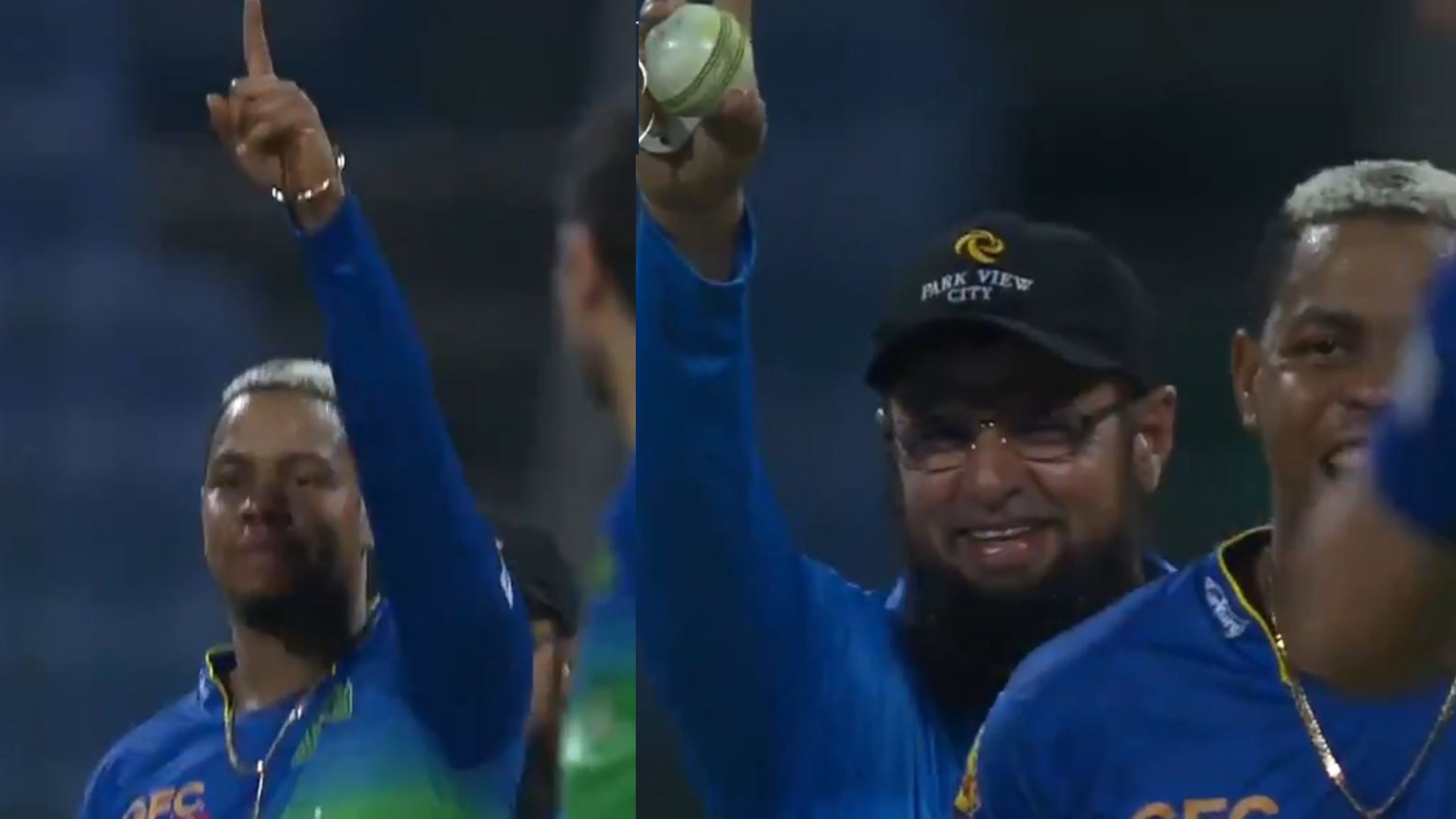 PSL 2021: WATCH - Shimron Hetmyer imitates umpire Aleem Dar and gives the batsman out before him
