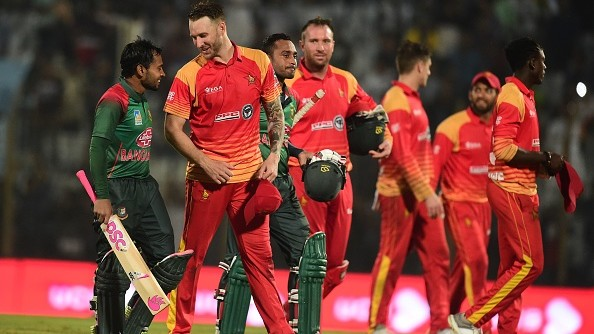 Zimbabwe won't travel to Bangladesh for T20I tri-series after ICC suspension